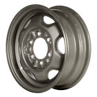 62243 Refinished Nissan Pickup 1987 1992 15 inch Silver Steel Wheel Rim