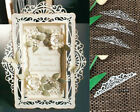 Lace Border Frame Metal Cutting Dies Stencils Scrapbook Embossing Paper Craft