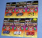 Pole Position 1992-93 NASCAR Lot of 6 Gordon Elliott Gant Hensley Marlin