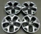 9191 JEEP COMPASS POLISHED GRAY 18 FACTORY OEM WHEELS 2018 2019 5VC28TRMAA