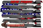 6 Replacement blades for TORO MOWER 60 CUT 115 9649 03115 9649105 7718 03