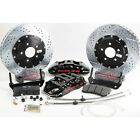 1985-1987 Corvette C4 Baer Extreme Front 14 Drilled Slotted Brake Kit 647432
