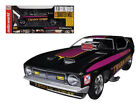 Autoworld 118 1972 Ford Mustang Trojan Horse NHRA Funny Car Model Black AW1122