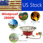 2800W Outdoor Portable Retracted Windproof Camping Backpacking Gas Stove X3K2