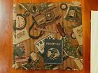 Creative Memories PASSPORT Tapestry Travel Album White Pages Retired old 12x12