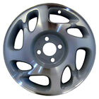 07012 Refinished Saturn SL2 2000 2002 15 inch Wheel Rim OEM Machined and Silver