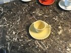 FIESTA Pale yellow DEMI/DEMITASSE STICK HANDLE SET***MINT