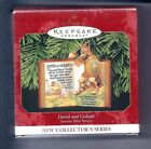 Hallmark Keepsake Ornament Favorite Bible Stories, David and Goliath - #1 Series