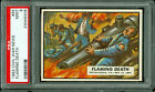 1962 TOPPS CIVIL WAR NEWS #65 FLAMING DEATH PSA 9