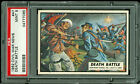 1962 TOPPS CIVIL WAR NEWS #47 DEATH BATTLE PSA 9
