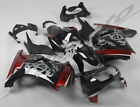 ABS Plastic Injection Fairing Bodywork for 08-2012 Kawasaki Ninja 250R Black Red