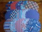 PATTERNED PAPER 4TH OF JULY DIE CUT DOILY SHAPES INDEPENDENCE DAY SCRAPBOOK CARD