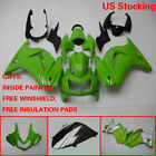 US Fairing Bodywork Injection Kit For KAWASAKI NINJA 250R 2008 2009-2012 Green