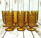 Set of 7 Vintage Indiana Glass Whitehall Pattern Parfait Glasses 5