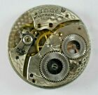 1919 Waltham Grade 220 12s 15 Jewels Pocket Watch Movement For Parts LOT#3