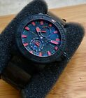 Ulysse Nardin Maxi Marine Diver Sea Automatic 263-92 Watch Red Black Men's 46mm