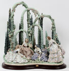 Lladro 1578 GARDEN PARTY Retired Glased Perfect Condition Elite Limited Edition