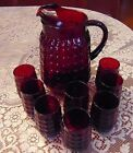 8 TUMBLERS~Anchor Hocking_MINT
