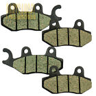 Front Rear Carbon Brake Pads - 2003 2004 2005 2006 2007 KYMCO People 250