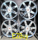 22 INCH NEW CADILLAC ESCALADE CHROME WHEELS RIMS 5309 WITH CENTER CAPS