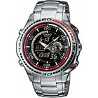 Brand New Casio EFA-121D-1AVEF Edifice Stainless Steel Thermometer Men's Watch