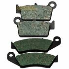 Front Rear Carbon Brake Pads - 2009 2010 2011 KAWASAKI KX 450 F