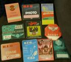 Lot of TEN Different BACKSTAGE PASSES REO Speedwagon not cd Richrath Cronin
