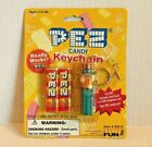 Pez Candy Keychain 1998 USA Uncle Sam Mini Dispenser with Candy