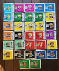 32 Different Garbage Pail Kids Card Wrappers Set