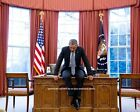 8x10 President Barack Obama PHOTO Deep in Thought White House Oval Office