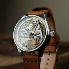 OMEGA mens whristwatch luxury vintage handcraft exclusive marriage skeleton