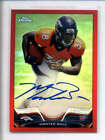 Get to Know All the 2013 Topps Chrome Football Rookie Autographs 63