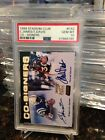 EDGERRIN JAMES TERRELL DAVIS 1999 STADIUM CLUB ROOKIE CO AUTO INSER PSA 10 POP 3