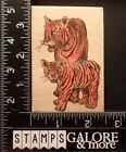RUBBER STAMPS STAMP AFFAIR J1229 MOTHER BABY TIGERS ANIMALS 495