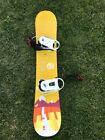 Twin Burton Surfboard Purple and Yellow Lakers Colors