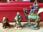 OWELL NATIVITY FIGURINE vintage 3 Kings Wise Men 1970s
