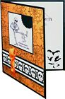 Funny Halloween Card Handmade Stampin Up Skulls And Skeleton With Dog