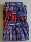 NWT POLO RALPH LAUREN Set of 3 (L 35-38) Boxer Underwear CLASSIC FIT Red Cotton