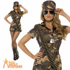 Adult Sexy Army Girl Costume Soldier Fancy Dress Military Uniform Ladies Outfit