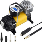 Portable Air Compressor Pump Car Tire Inflator Multiple Use Small Heavy Duty