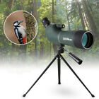 20 60x60mm Waterproof Monocular Zoom Telescope Spotting Birdwatching Tripod