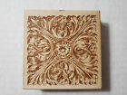 All Night Media Anna Griffin Rubber Stamp Ornate Victorian Vintage Square