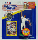 DAVE JUSTICE - Starting Lineup MLB SLU 1991 Action Figure, Coin