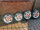 Momo Ferraris 4x100 16in Rare Retro Wheels Alloys
