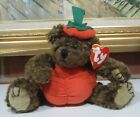 1993 Ty Beanie Babies PETER The Halloween Pumpkin Bear