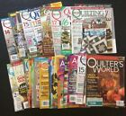 Lot of 31 QUILTING MAGAZINES HOLIDAYS + CHRISTMAS + NATIVITY PATTERN FREE SHIP