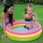 Intex Baby Swimming Pool Toddler Summer Water Play Center 34 x 10 Soft Floor