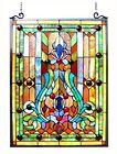 Stained Glass Chloe Lighting Victorian Window Panel 19 X 2475 Handcrafted New