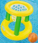 Floating Hoops 3 Incl Inflatable Pool Hoop and Basketball Toys Games Fun
