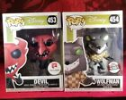 Funko Pop Nightmare Before Christmas DEVIL #453 & WOLFMAN #454 - Exclusives